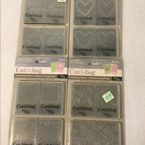 Provo Craft Cuttlebug embossing folders